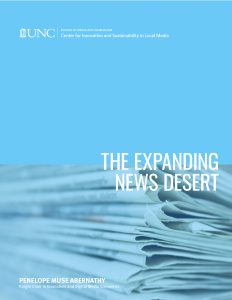 The Expanding News Desert Report