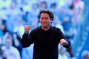 Gustavo Dudamel, music and artistic director, LA Philharmonic
