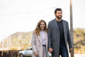 Rachelle Lefevre and Matt Whelan play a Canadian couple in The Sounds