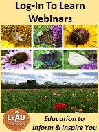 LEAD for Pollinators Webinars 2021